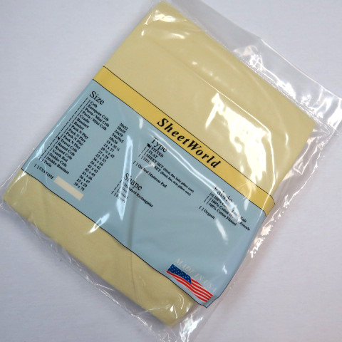 Solid Yellow Jersey Knit Travel Lite Playard Sheet - Fits BabyBjorn 24x42