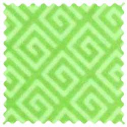 Geo Green Fabric
