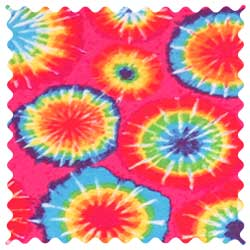 Tie Dye Jersey Fabric