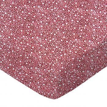 Confetti Dots Burgundy