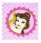 Fabric Shop - Princess Circle Fabric - Yard - 100% Cotton Flannel - Character Prints Fabric Shop