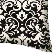 Percale Pillow Case - White Damask