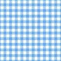 Oval (Stokke Mini) - Primary Blue Gingham Woven - Fitted Oval - 100% Cotton Woven - Primary Stripes and Ginghams Oval Sheets