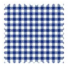 Primary Navy Gingham Woven Fabric