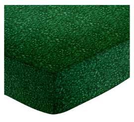 Cradle - Hunter Green Petals - Matching Comforter - 100% Cotton Percale - General Prints Cradle Sheets