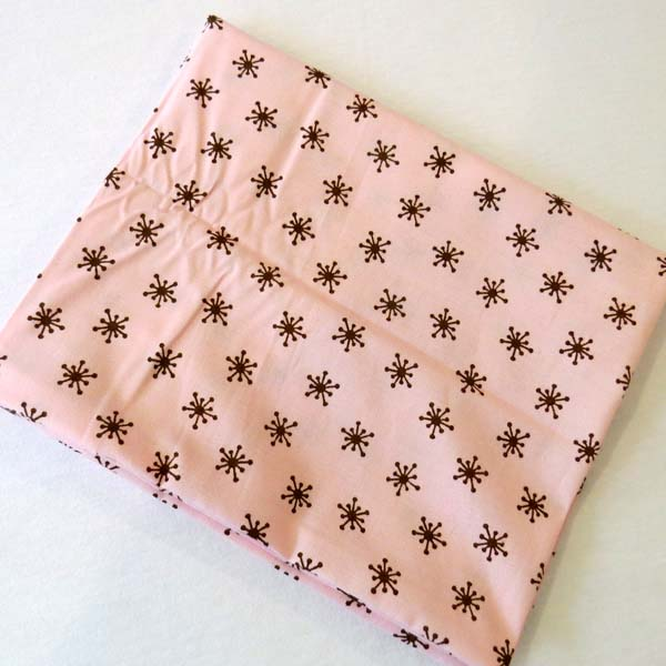Brown Tops Pink Cotton Baby Pillow Case