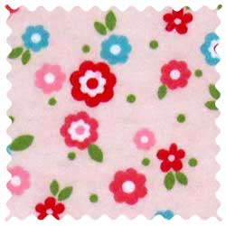 Mini Floral Pink Fabric