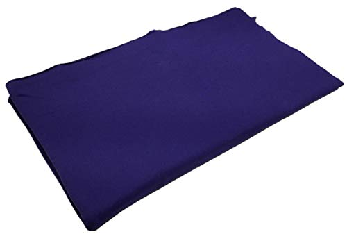 3 Pack - Solid Purple Jersey Fabric Strips - 25` x 46`