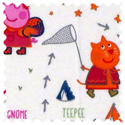 Peppa Pig Adventure Fabric