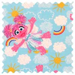 Sesame Street Abby Fabric