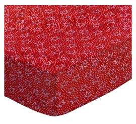 Dotted Stars Red