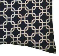Percale Pillow Case - Navy Links