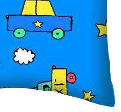 Percale Pillow Case - Kiddie Transport