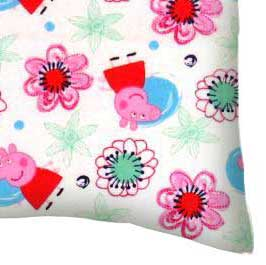 Flannel Pillow Case - Peppa Pig
