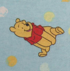 Bassinet - Pooh & Friends Blue - Fitted - 100% Cotton Flannel - Character Prints Bassinet Sheets