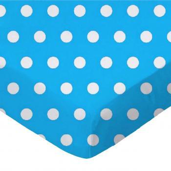 Polka Dots Turquoise