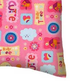 Percale Pillow Case - Baby Tweety Pink