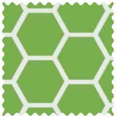 Citrus Honeycomb Fabric