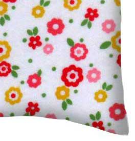 Flannel Pillow Case - Mini Floral