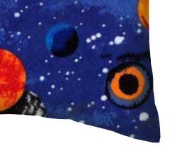 Percale Pillow Case - Planets