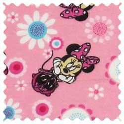 Minnie Mouse Daisy Fabric