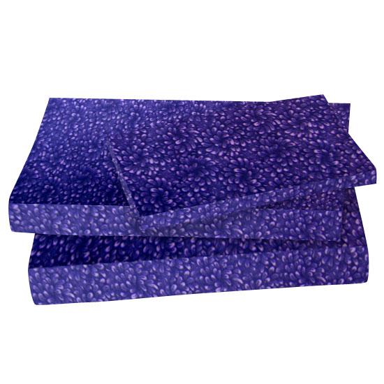 Purple Petals Cotton Woven Twin