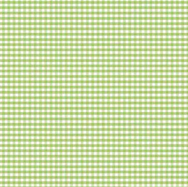 Sage Gingham Fabric Fabric
