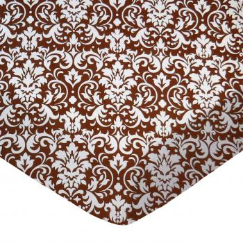 Brown Damask