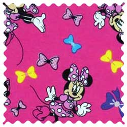 Minnie Mouse Bows Knit Fabric