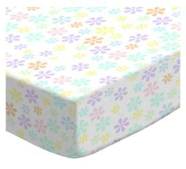 Pastel Colorful Floral Woven