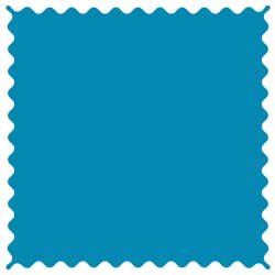 Turquoise Jersey Knit Fabric