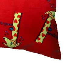 Giraffes Red