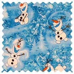 Frozen Olaf Fabric