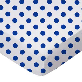 Royal Polka Dots