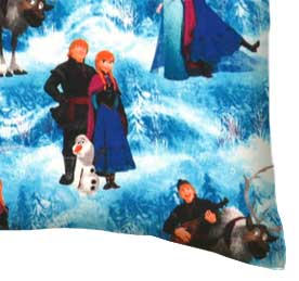 Percale Pillow Case - Frozen Scene