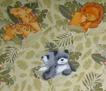 Cradle - Animal Forest - Fitted - 100% Cotton Percale - Cuddlies Cradle Sheets