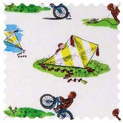 Curious George Kite Fabric