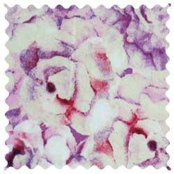 Lavender Floral Fabric