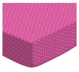 Primary Pindots Pink Woven