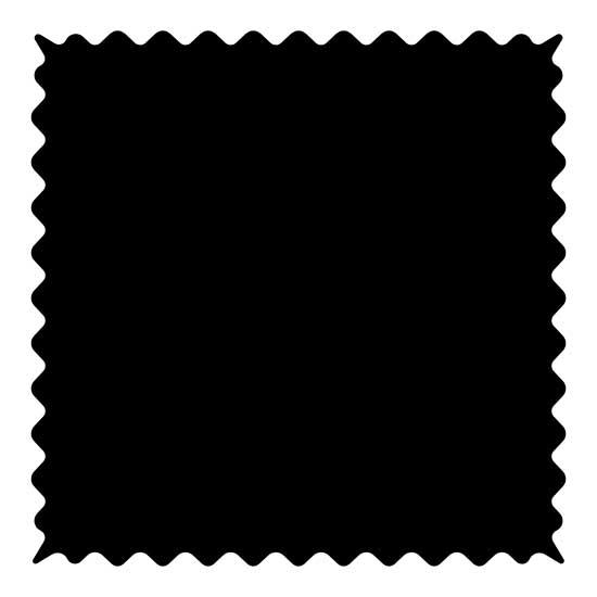 Flannel - Black Fabric