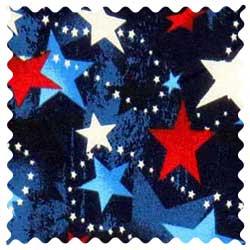 Patriotic Stars Fabric