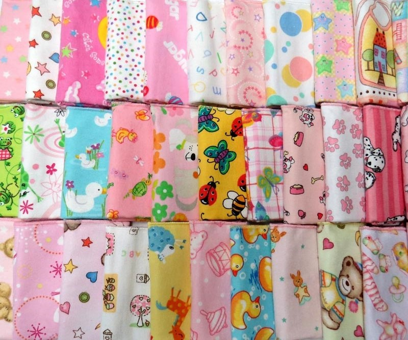 Girls 6 Pack - Flannel Fun Prints