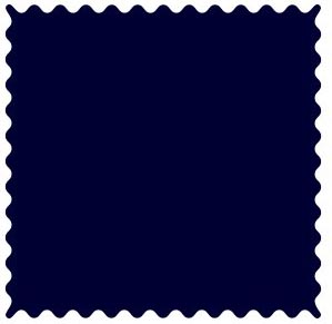 Solid Navy Woven Fabric