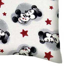 Twin Pillow Case - Mickey Mouse Stars