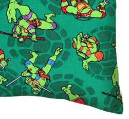 Percale Pillow Case - Ninja Turtles Shells