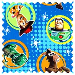 Buzz Light Year Fabric