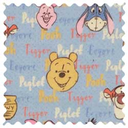 Pooh & Friends Fabric