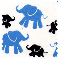 Elephants Fabric