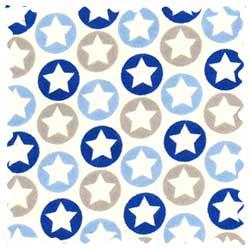 Stars n Circles Fabric