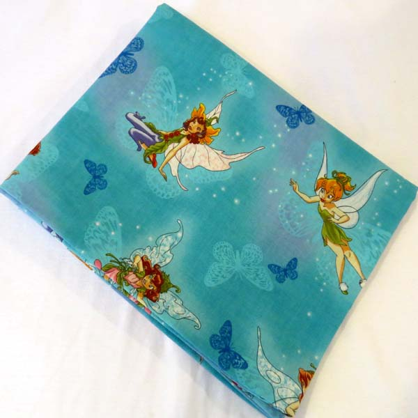 Tinkerbell Cotton Baby Pillow Case